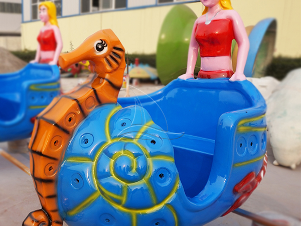 Ocean Roating Park Rides