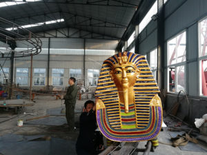 Customized Pharaoh Roller Coaster Ride