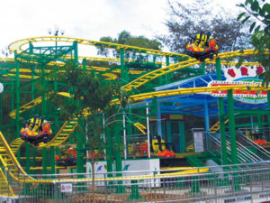 Amusement Park Spin Pulley