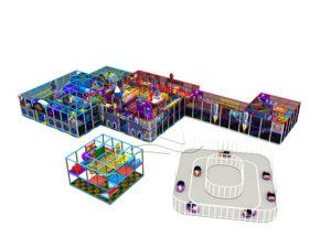 1224㎡ Indoor Playground