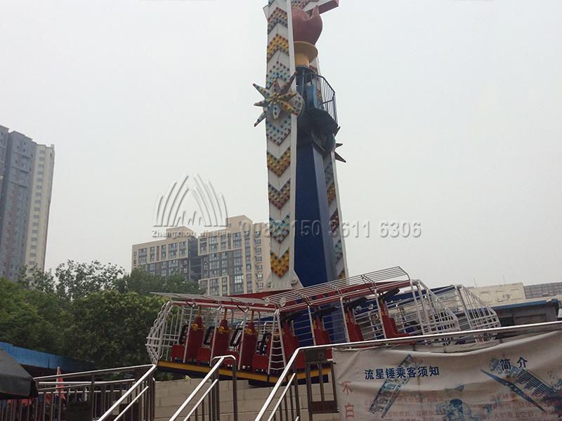 Kamikaze Ride Amusement Park Equipment Supplier Jinshan