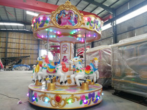 6 seats Kids Carousel Rides