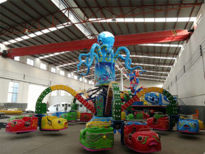 Load 11 sets amusement rides to Nigeria