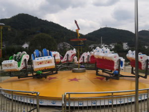 Amusement Park Booster Flat Ride
