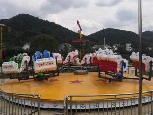 Amusement Park Booster Flat Ride