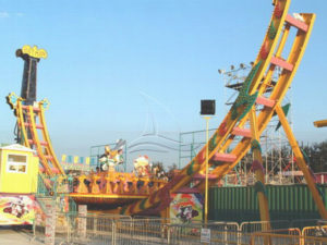 How to keep large amusement facilities clean?