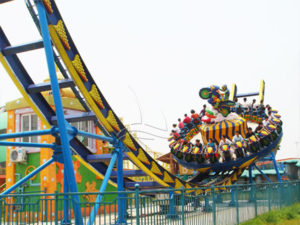 Disk'O Amusement Park Ride