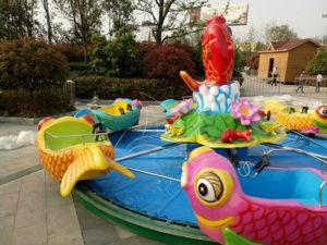 Carp Jumping Gantry Park Ride
