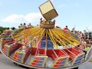 Amusement Park Dancing Flying Ride