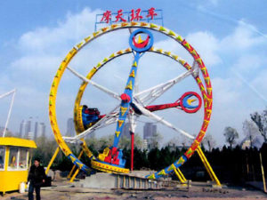 Amusement Park Fire Ball ride