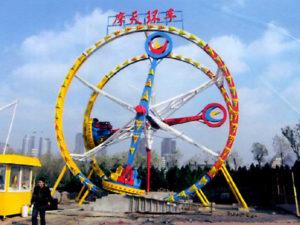 Amusement Park Fire Ball ride