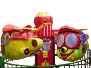 Fun Big Eye Aircraft Kids Ride
