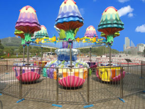 Happy Jelly Fish Park Ride
