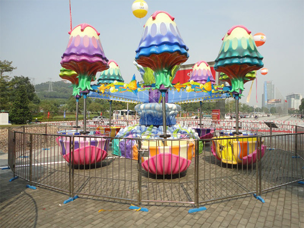 Happy Jelly Fish Park Ride