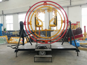 Human Gyroscope Park Ride