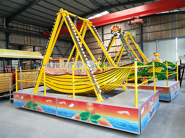 Portable Pirate Ship  Kids Ride