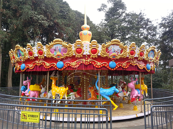 Europe Style Luxury Carousel
