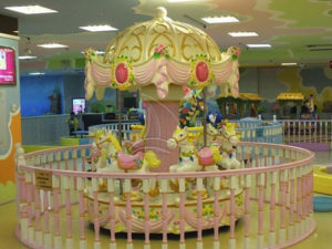 What preparations must be made before the amusement park opens?