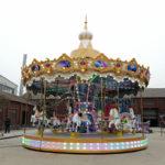 Deliver carousel to Peru