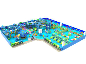 White Indoor Playground
