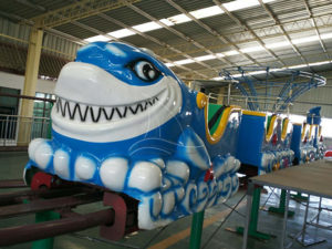 Novel Design Shark Roller Coaster