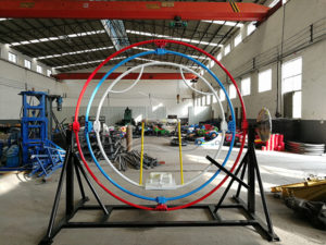 Single Person Human Gyroscope Ride