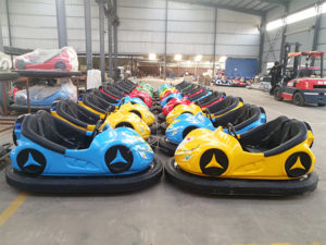 Steel Bumper Cars Kids Ride