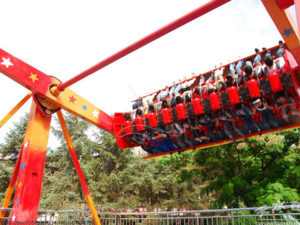 Amusement Park Top Spin Rides