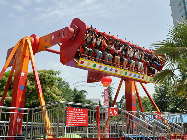 Amusement Park Top Spin Rides