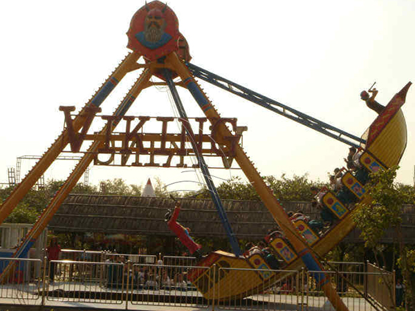 Amusement Viking Ship Ride
