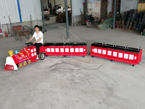 Trackless Mini Kids Train
