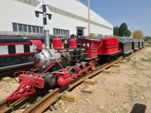 Mini Simulated Steam Track Train