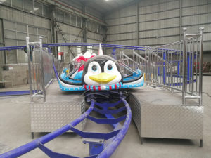 Penguin Roller Coaster Park Ride
