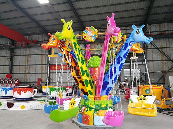 Giraffe flying chair Kids Ride