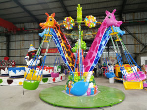 Giraffe flying chair Kids Ride