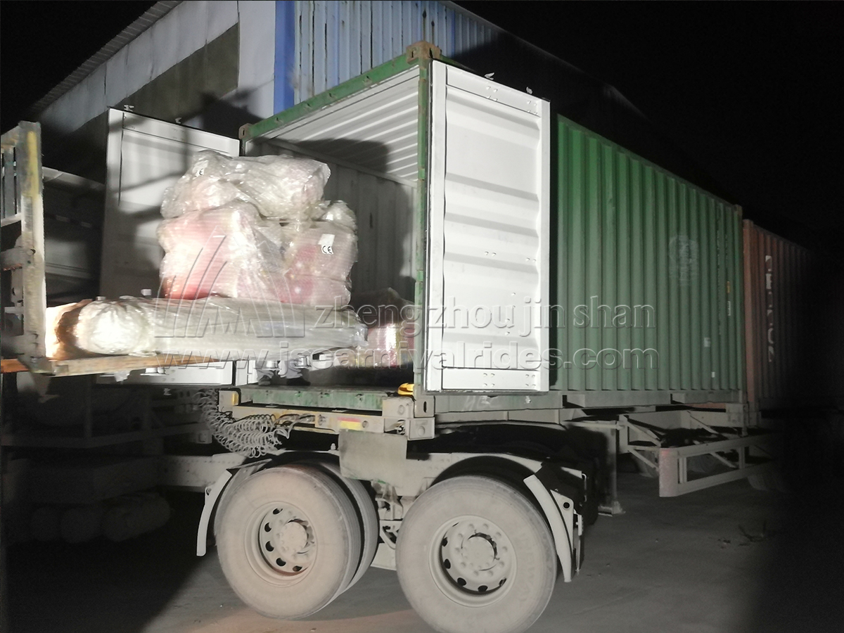 The Shipment of Christmas Train for our Chile Client Has Been Arranged