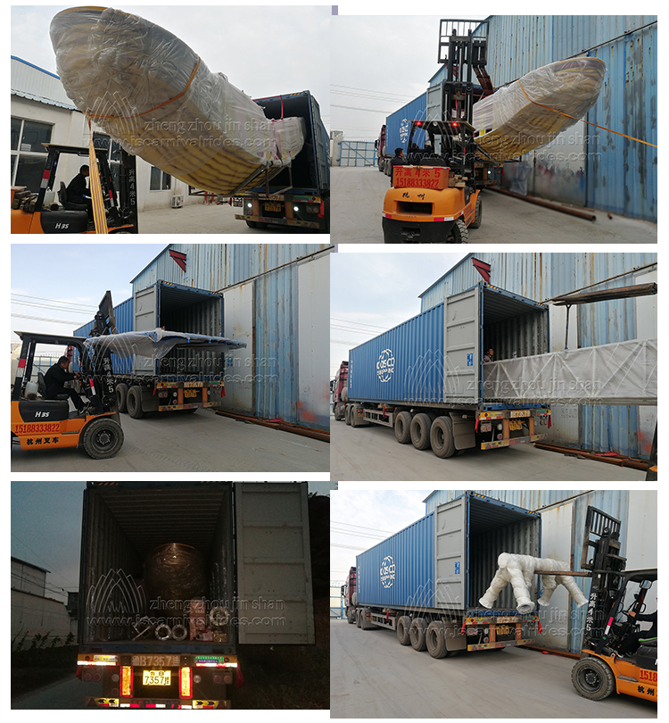 The Pirate Ship For Our Mexico Client Has Arranged Shipment