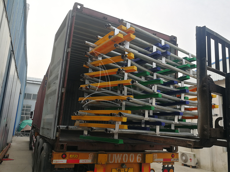Christmas Track Train for Our Spain Client is on its Way to Home