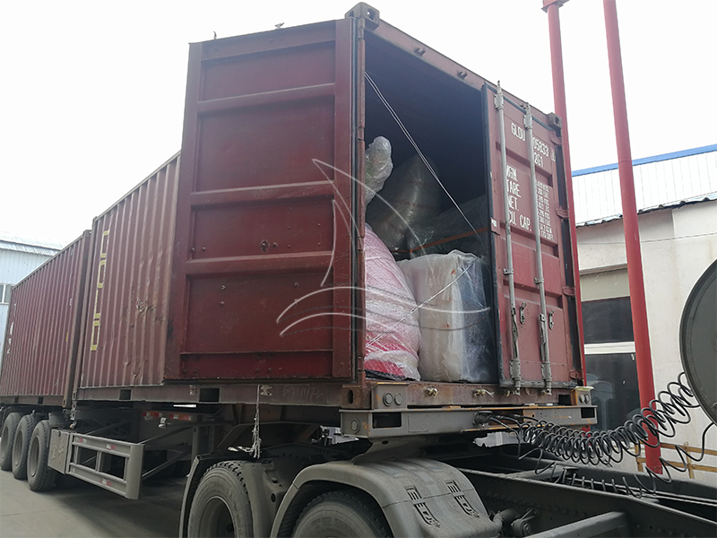 The Worm Roller Coaster for Our Tanzanian Client is On the Way to Its Destination