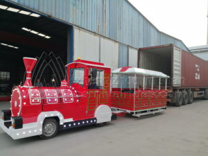 Christmas Tourist Train for Our Nigeria Client Has Arranged Shipment