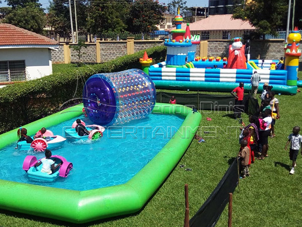 Inflatable Games Feedback from Our Kenya Customer