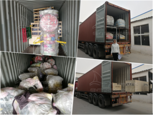 Load 11 sets amusement rides to Nigeria