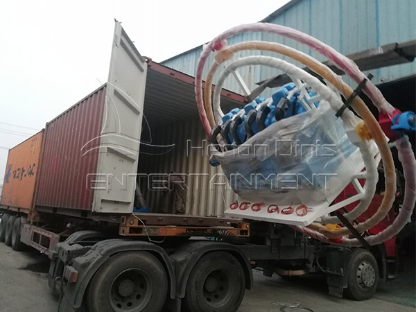 The Human Gyroscope for Our Guatemala Client is on the Way to Its Destination