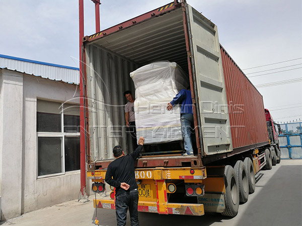 The Shipment for Our Mexican customer
