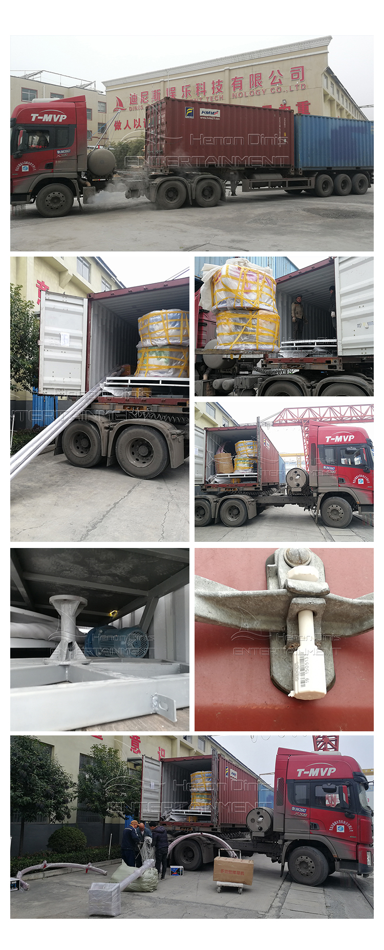 The Tea Cup And Bungee Ride for Our Chile Client Are Already for Shipment
