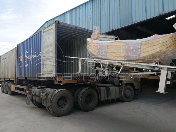 The delivery of Mini pirate ship and 32 Seats Pirate Ship for Our Spanish Client