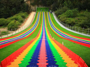 Rainbow Dry Snow Slope Slide
