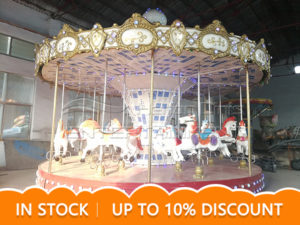 16 Seats Luxury Park Carousel Ride For Sale