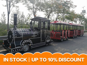 Trackless Train Ride For Park And Shopping Mall