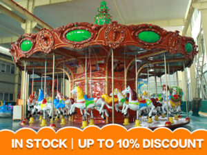 Europe carousel ride for kids